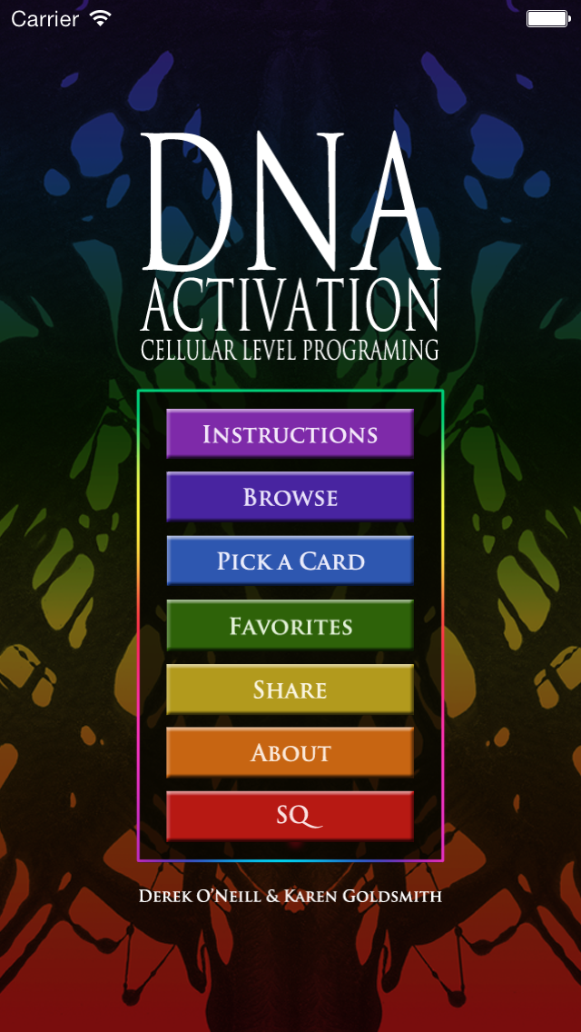 DNA Activation Oracle Cardsのおすすめ画像2