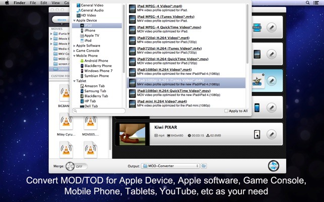 convert mod to mp4 mac freeware