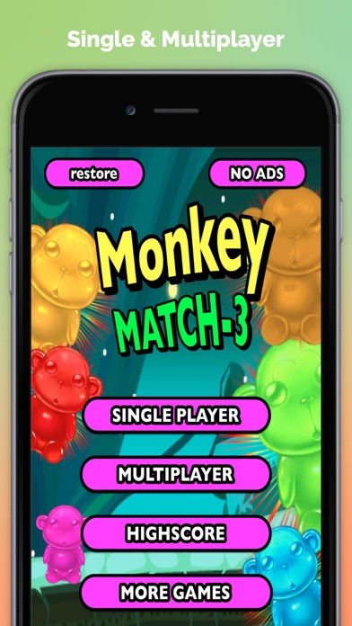 Monkey Match Three Free - The Secret of the Chimps in the