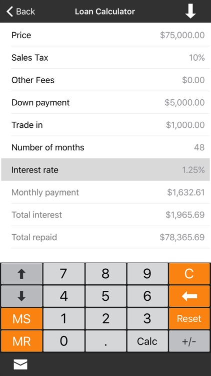 Financial Calculator +