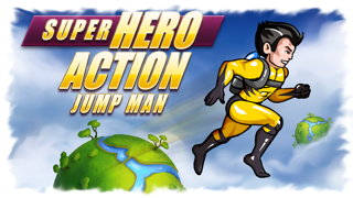 Super Hero Action Jump Man - Best Fun Adventure Jumping Race