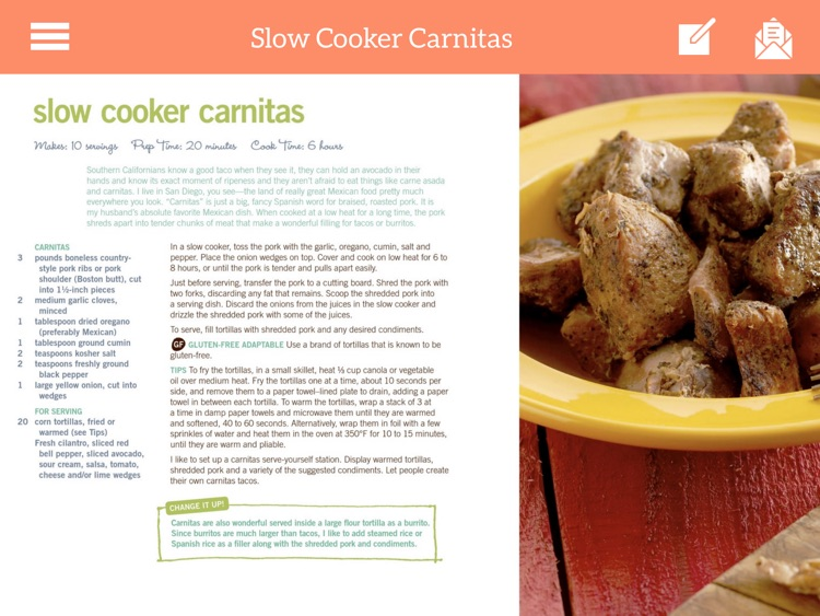 Dinner Recipes - Easy & Quick for iPad screenshot-3