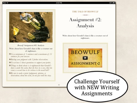 beowulf assignments