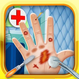 Little Hand Doctor & Nail Spa Game - fun makeover salon for kids (boys & girls)