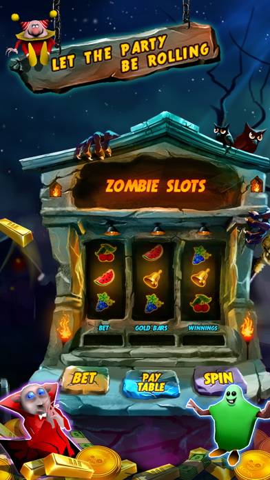 Zombie Party: Halloween Dozer screenshot three