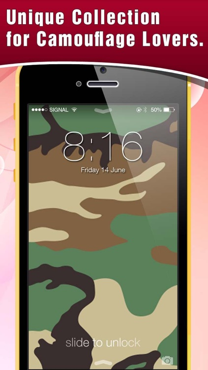 HD Camouflage Wallpaper! Retina Lock Screen Of Army Backgrounds & Themes screenshot-4