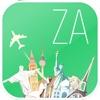 南アフリカ オフラインマップ&フライト。航空券、空港、レンタカー、予約のホテル。無料のナビゲーション。