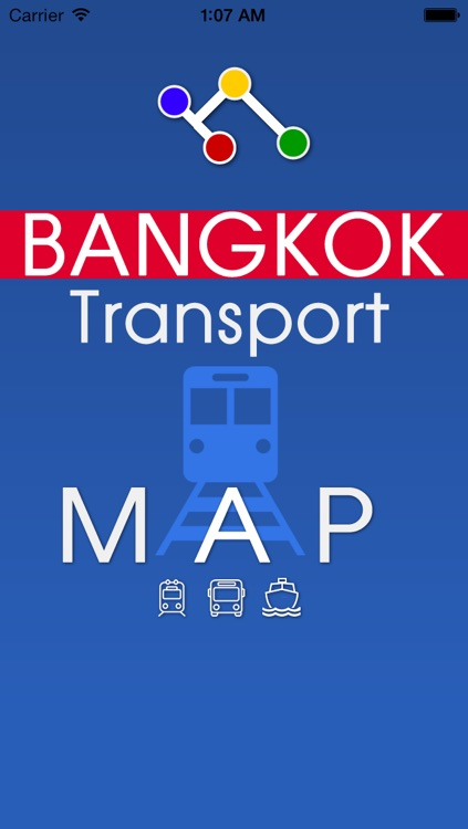 Bangkok Metro Map Transport - Sky train and Boat screenshot-4