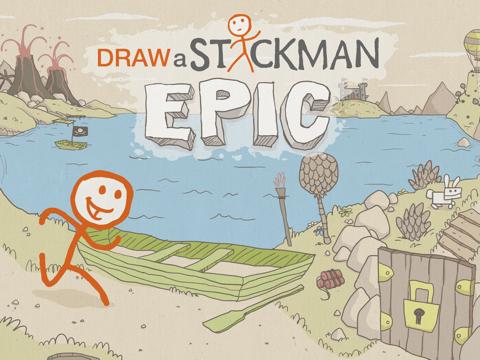 Draw a Stickman: EPIC HD Free на iPad