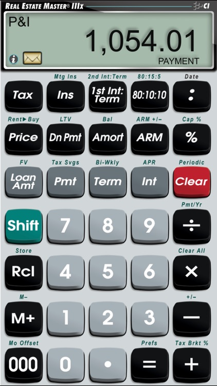 Real Estate Master IIIx -- Simple to Use Residential Real Estate Finance Calculator screenshot-1