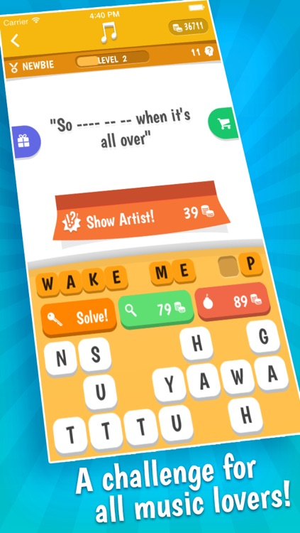 Song Quiz – The Free Lyric Guessing Game screenshot-4