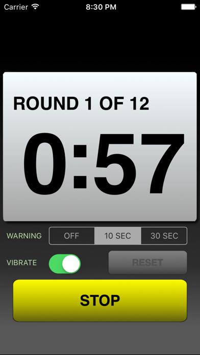 Boxing Round Timer screenshot three