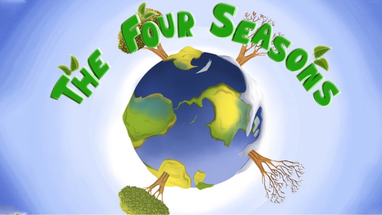 The Four Seasons - An Earth Day Interactive Children's Story Book HD