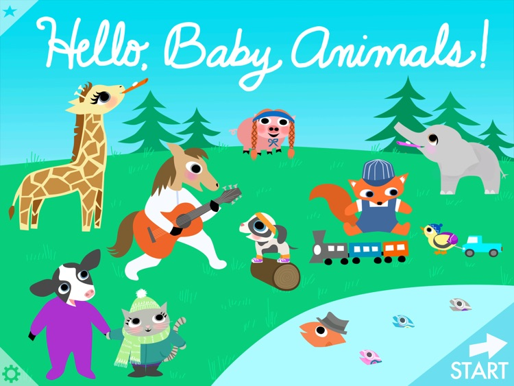 Hello, Baby Animals!