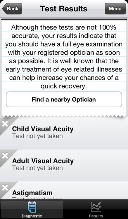Vision Test screenshot-4