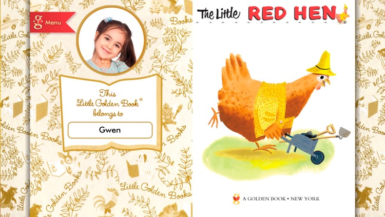 The Little Red Hen - A Little Golden Book App