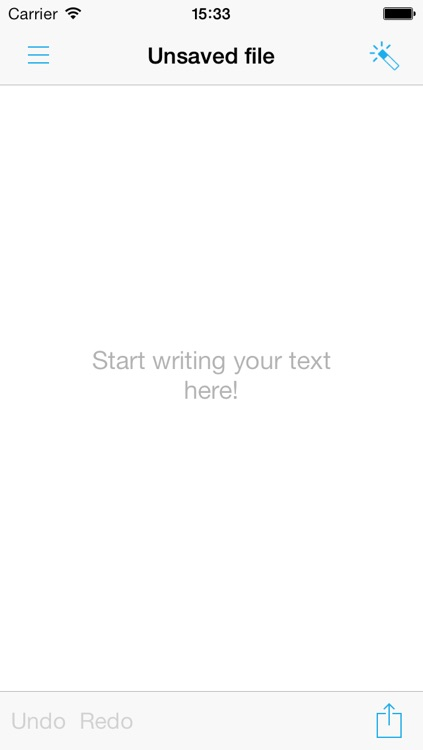 MyTexT Free - Text editor with Fleksy keyboard support