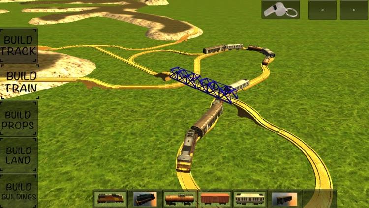 Kids Advanced Trains Construction screenshot-3
