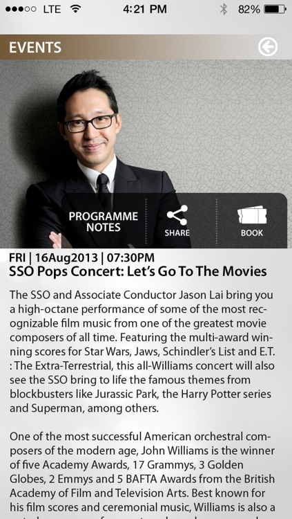 Singapore Symphony Orchestra - SSO screenshot-2