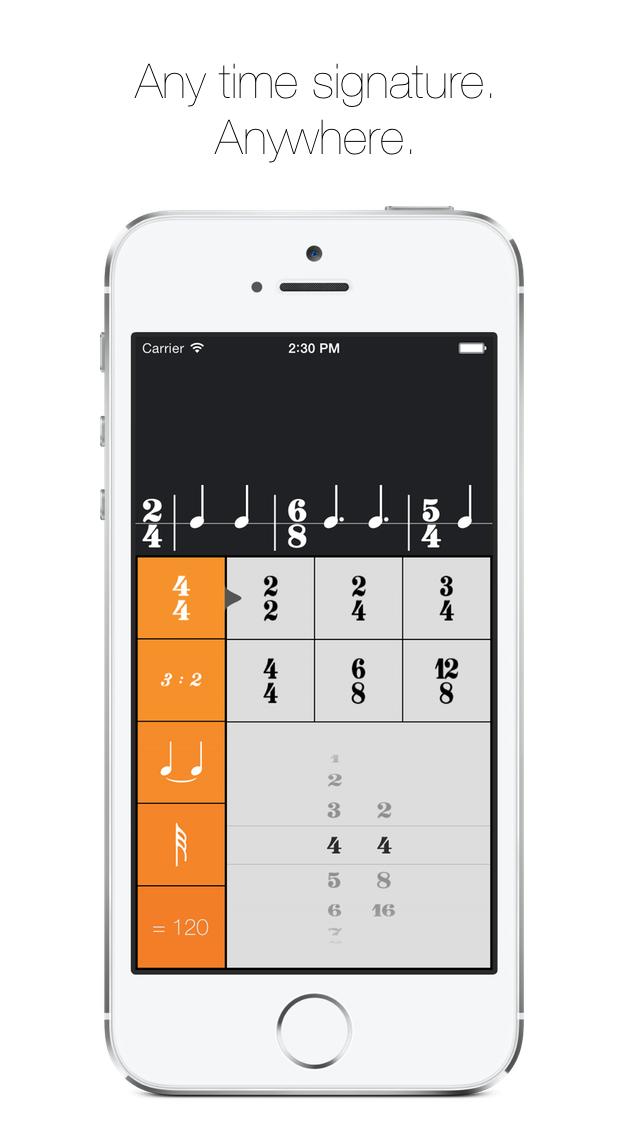 Rhythm Calculator - Advanced rhythm trainer and metronome screenshot three