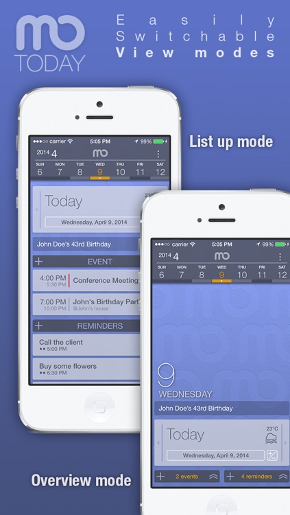 mo.Today - Cal/Todo: All in one Task manager