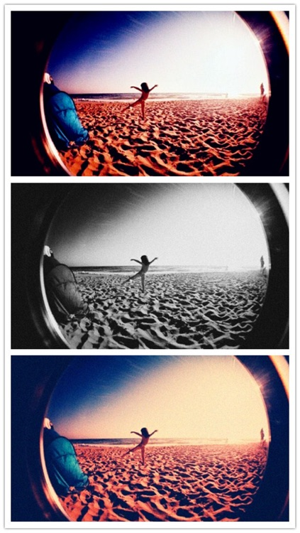 Fisheye Camera - Fisheye effect with old file, lomo and color effects