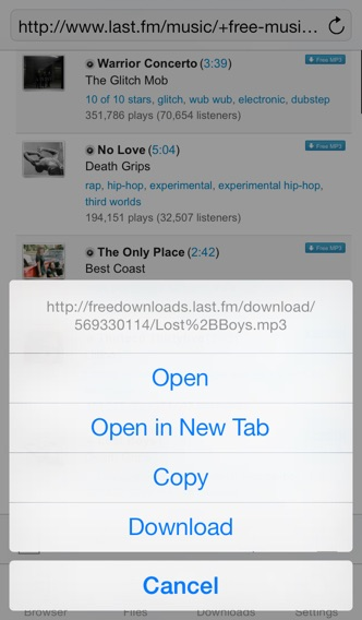 DownloadMate - Music,... screenshot1