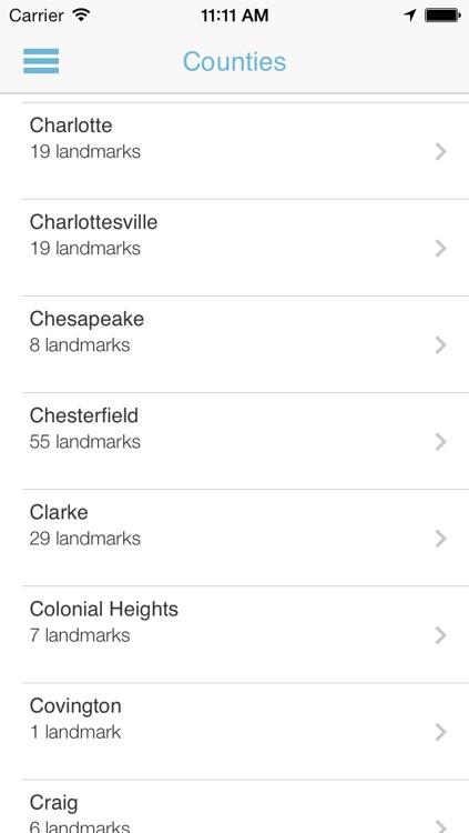 Virginia Historical Landmarks Premium screenshot-3