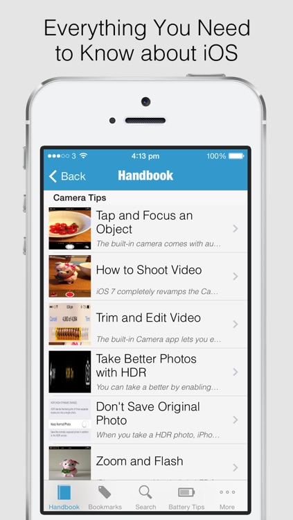 Secret Handbook for iOS 7 Lite - Tips & Tricks Guide for iPhone