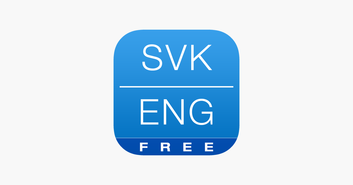 free slovak english dictionary and translator slovensko anglick slovn k on the app store. Black Bedroom Furniture Sets. Home Design Ideas