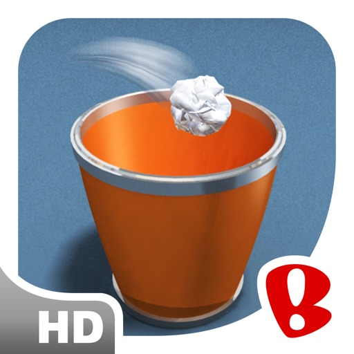 Paper Toss HD icon