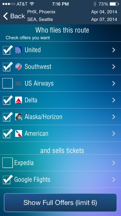 Phoenix Airport + Flight Tracker Premium screenshot-3
