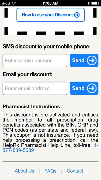 HelpRx Mobile Prescription Discounts screenshot-3