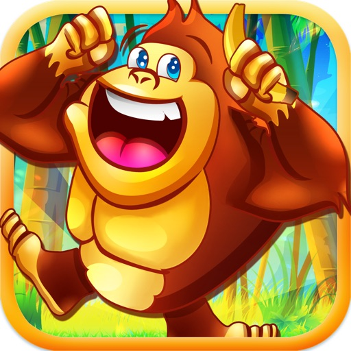 Джунгли Quest - Ваша бесплатная Супер Gorilla Запуск + Banana Gathering Adventure Выполнить