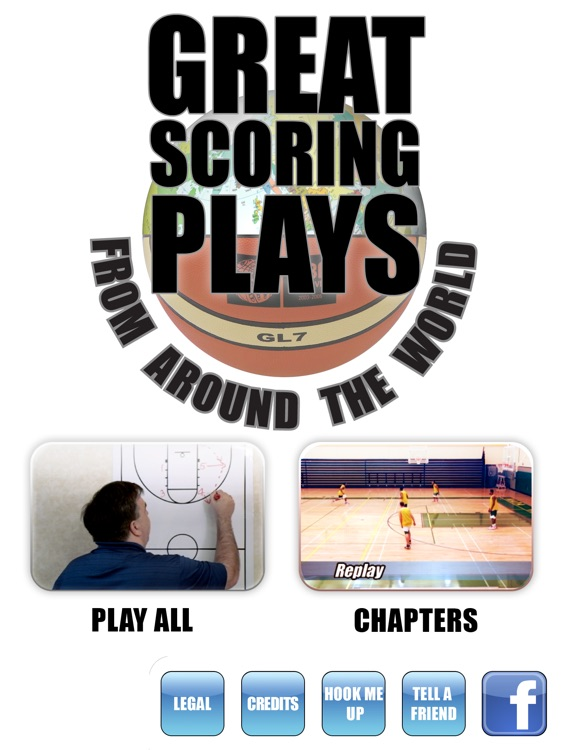 Great Scoring Plays From Around The World: International & European Offense - with Coach Lason Perkins - Full Court Basketball Training Instruction - XL