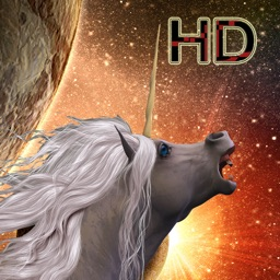 Space Unicorn Dragonfire Attack - Deadly Wyvern Dragons Alicorn Hunt 3D