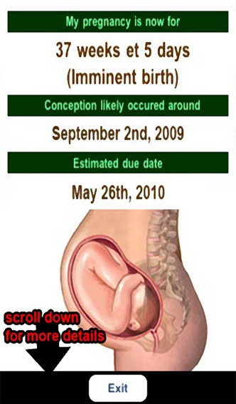 Pregnancy calculator know your due date calculator what is.