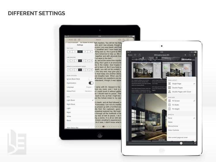 TotalReader for iPad - The BEST eBook reader for epub, fb2, pdf, djvu, mobi, rtf, txt, chm, cbz, cbr screenshot-3