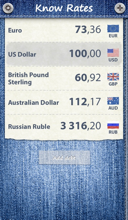 KnowRates - Currency Calculator