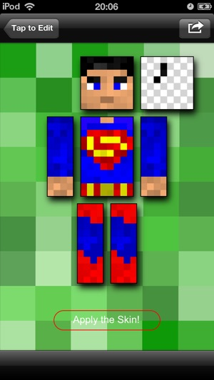 Pocket Skins Studio Minecraft Edition On The App Store - Minecraft skins fur ipod