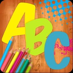 Alphabet Paint for Kids - Letters