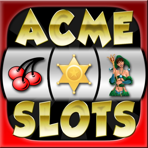 Acme Slots Machine Mega Pro - Bonus Wheel and Multiple Paylines Edition Games