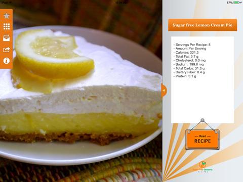 Sugar Free Desserts Recipes screenshot