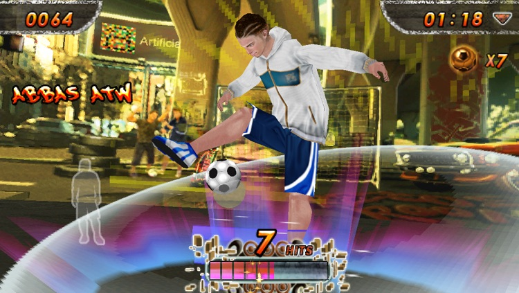 iSoccer Backstreet Lite screenshot-2