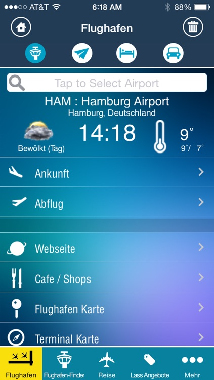 Hamburg Airport + Flight Tracker screenshot-1