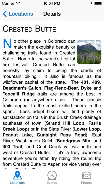 Colorado Rocky Mountain Bicycle Boys