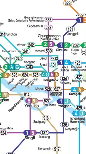 Seoul travel guide and offline map Seoul subway Seoul metro