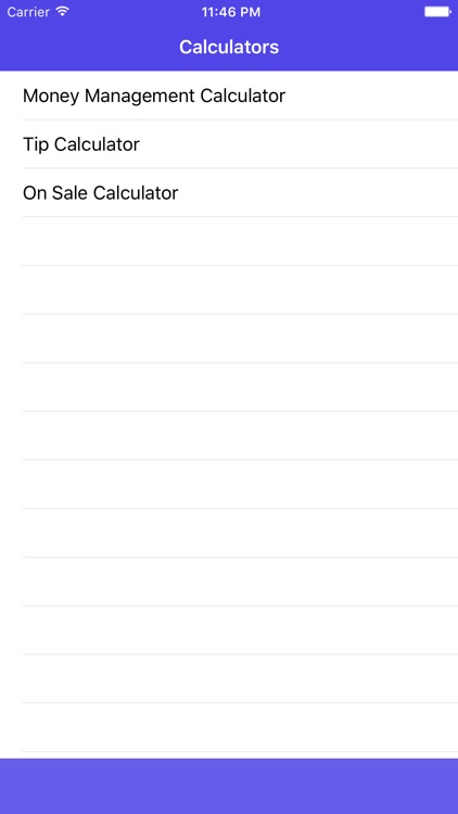 Money Mgt Calculator screenshot-0