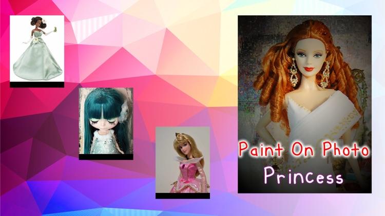 Paint On Photos Princess screenshot-4