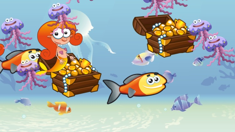 Mermaids and Fishes for Toddlers and Kids : discover the ocean ! screenshot-3